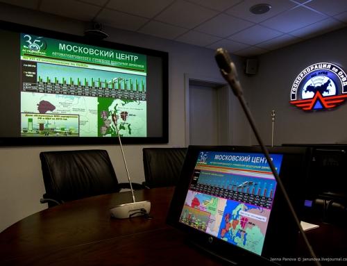 Сеть Московского центра автоматизированного управления воздушным движением